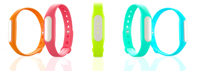 Xiaomi Mi band wearable device