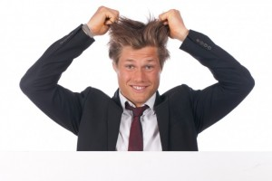 How Any Man Can Tame His Wild and Crazy Hair