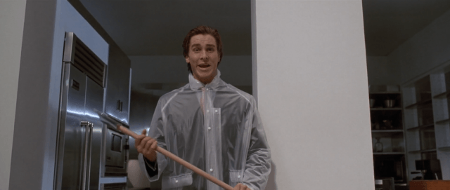 Christian Bale in 'American Psycho.'
