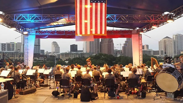 Austin Symphony, 4th of July