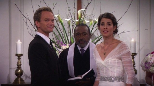 Neil Patrick Harris and Cobie Smulders in 'How I Met Your Mother.'