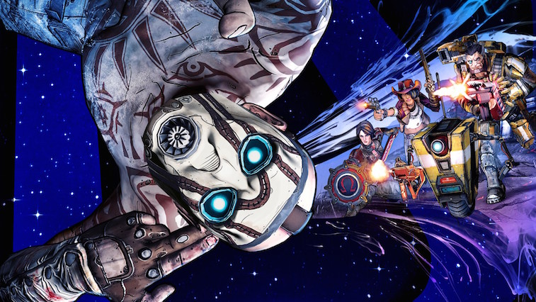 Cover art for 'Borderlands: The Pre-Sequel'