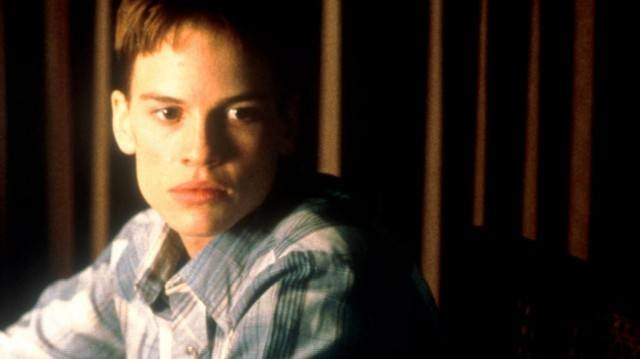 Hilary Swank in 'Boys Don't Cry.'