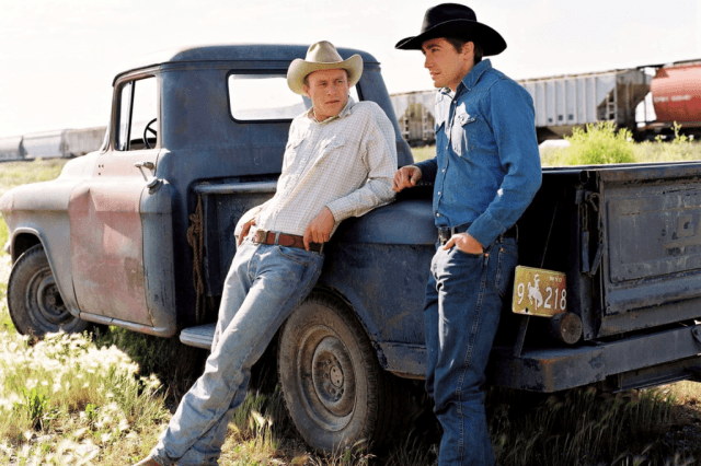 Heath Ledger and Jake Gyllenhaal in 'Brokeback Mountain.'