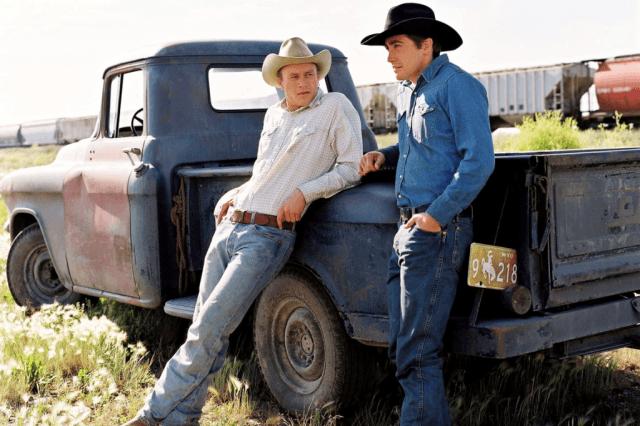 Heath Ledger and Jake Gyllenhaal in 'Brokeback Mountain.'