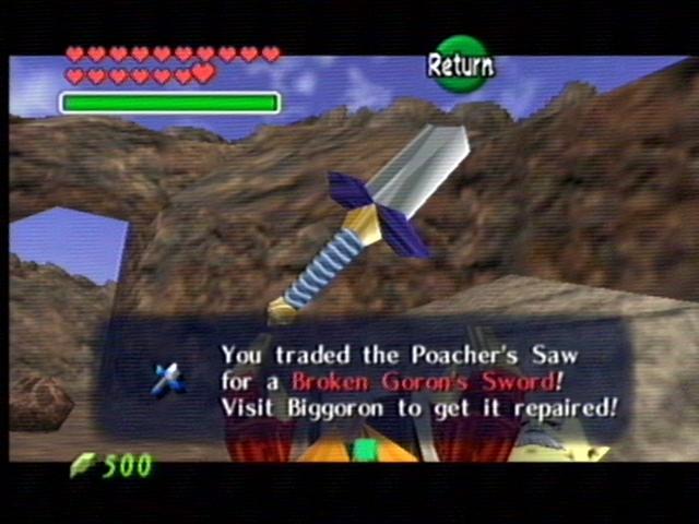 Zelda ocarina of time gaming