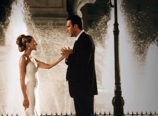 Sarah Jessica Parker and John Corbett in 'Sex and the City.'