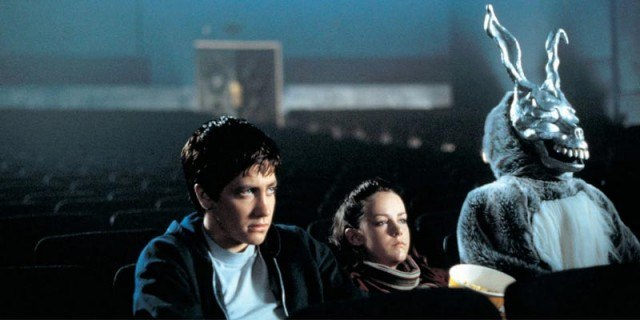 Jake Gyllenhaal and Jena Malone in 'Donnie Darko.'