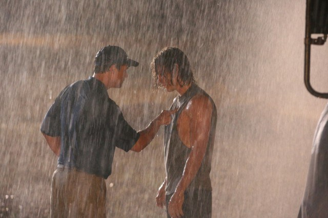 Kyle Chandler and Taylor Kitsch in 'Friday Night Lights.'