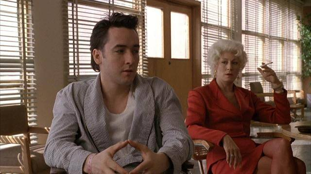 John Cusack and Angelica Huston in 'The Grifters.'