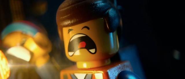 A Lego person screaming