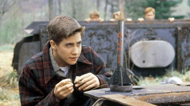 Jake Gyllenhaal in 'October Sky.'