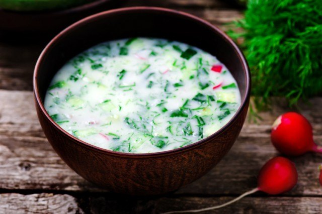 cold soup, cucumber