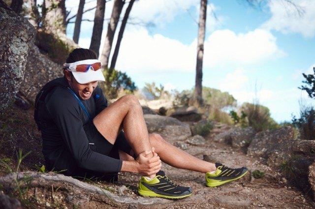 runner with shin splints