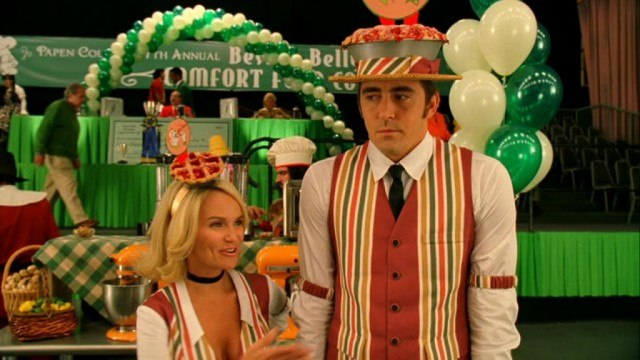 Kristin Chenoweth and Lee Pace in 'Pushing Daisies.'
