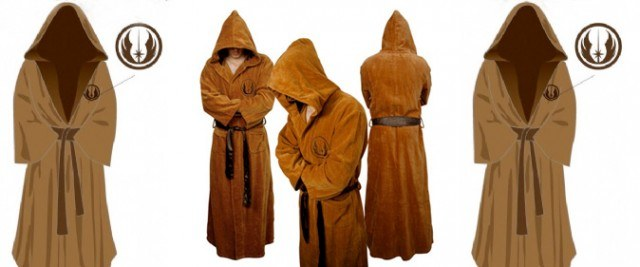 Jedi Bathrobe - Wired