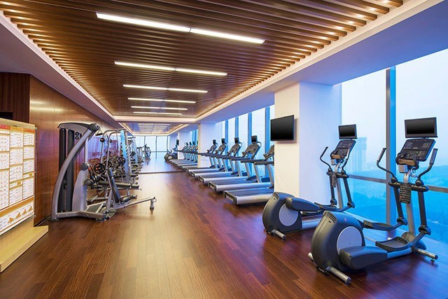 Sheraton Hotel fitness center