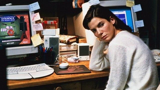 Sandra Bullock in 'The Net.'
