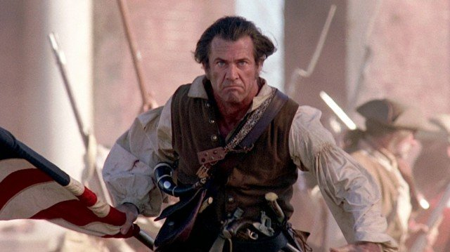 Mel Gibson in 'The Patriot.'