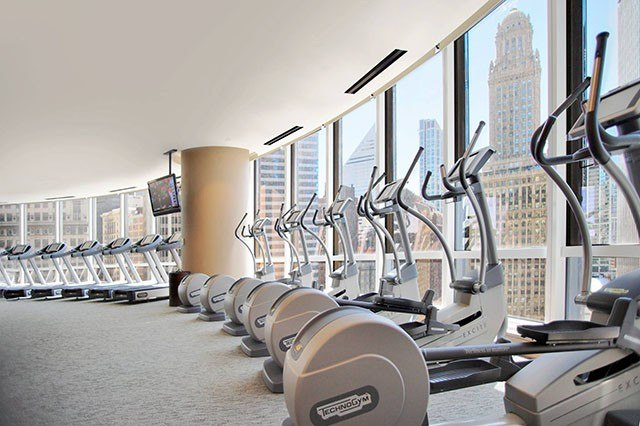 Trump Hotel fitness center