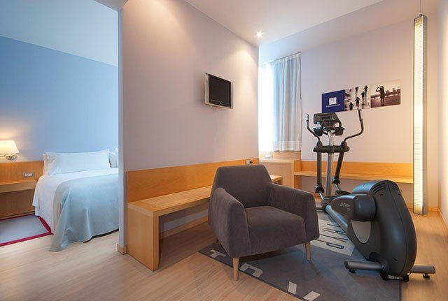 TRYP fitness room