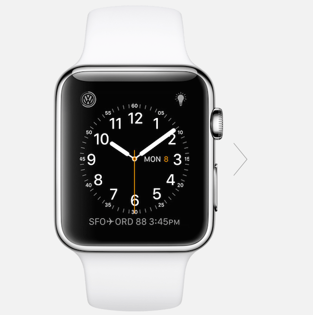 watchOS 2 enables third-party complications for Apple Watch faces