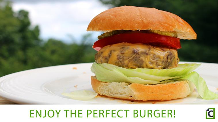 step 11: burger