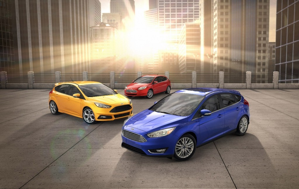 The Ford Focus family