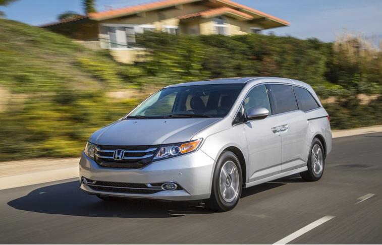 2015 Honda Odyssey.
