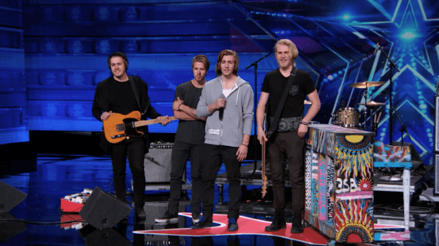 America's Got Talent - 3 Shades of Blue