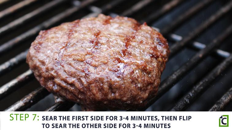 step 7: burger