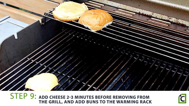 step 9: burger