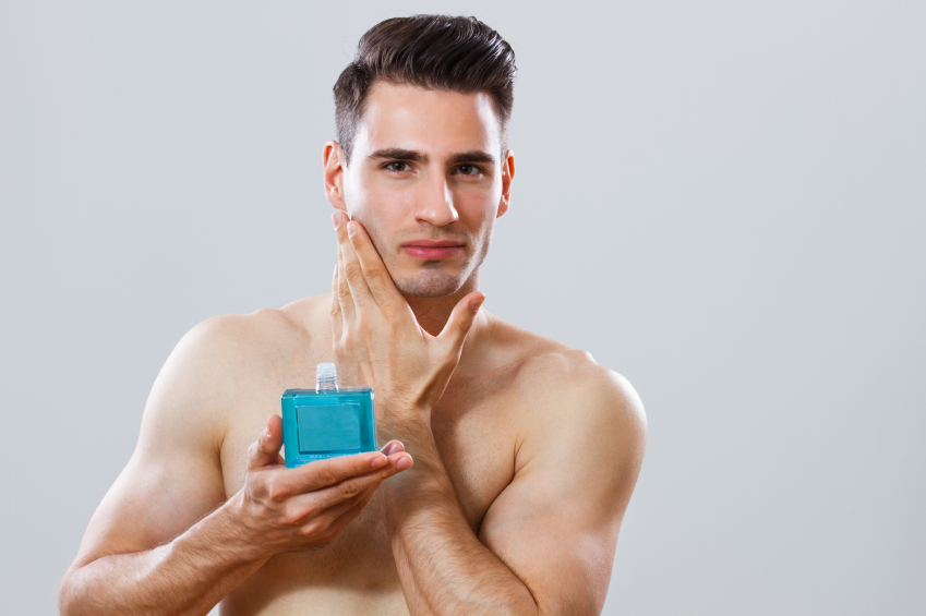 Aftershave, grooming