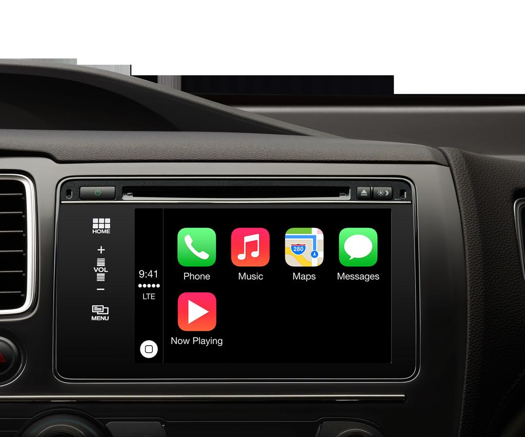 Apple CarPlay dashboard