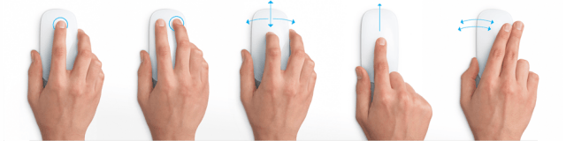 Apple Magic Mouse gestures
