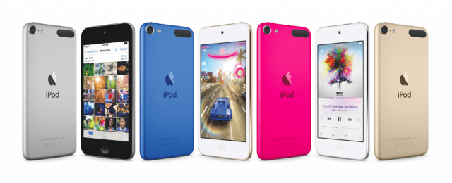 Apple updates the iPod Touch