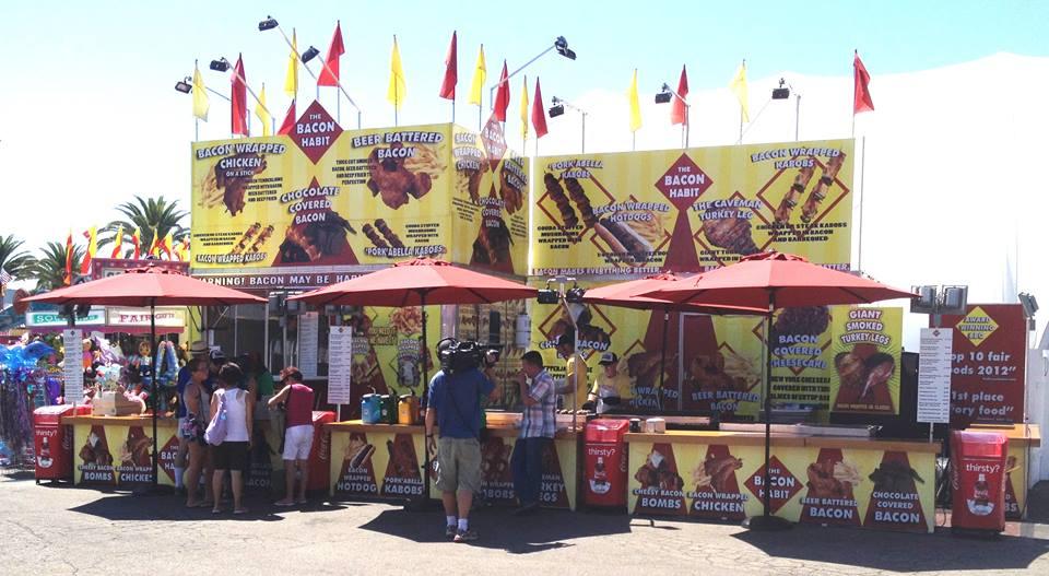 Bacon Habit state fair food