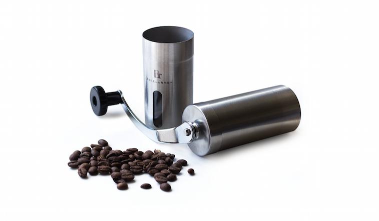 Brillante coffee grinder