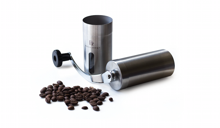 Brillante coffee grinder