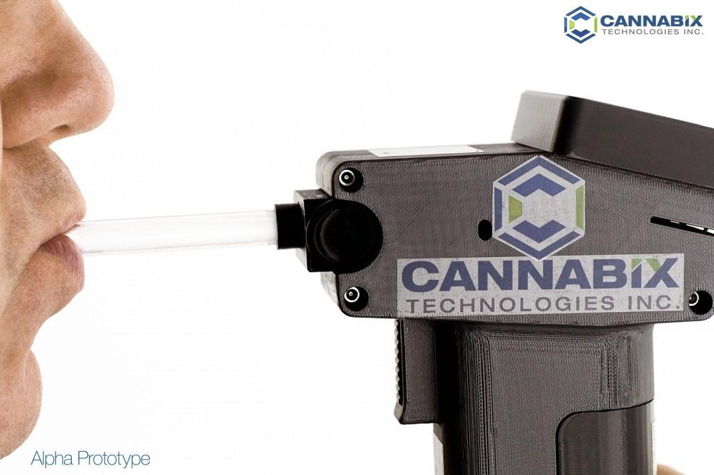 Cannabix breathalyzer