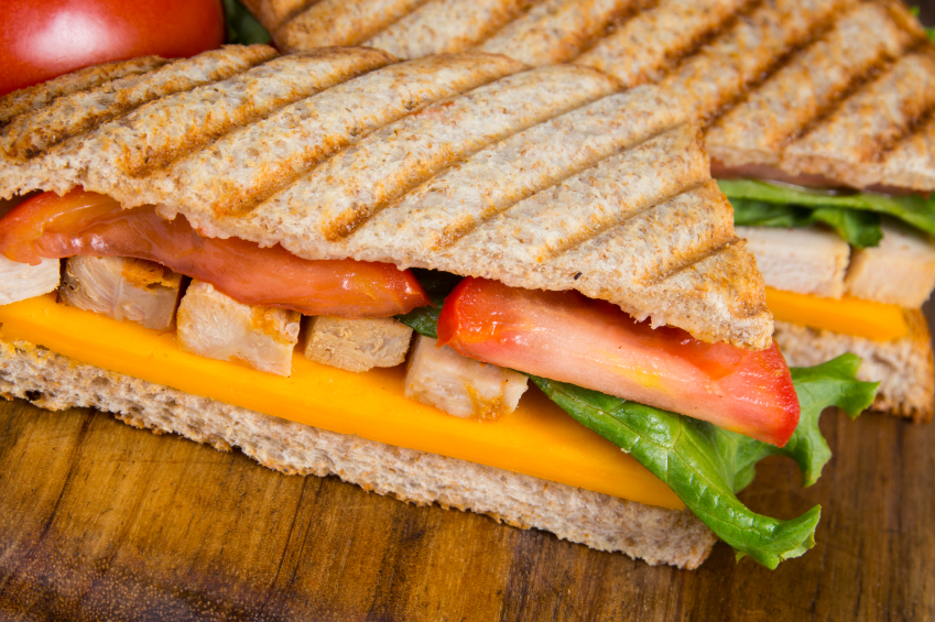 chicken panini with cheddar cheese