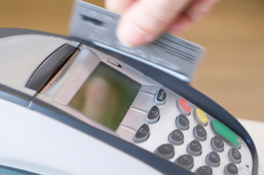 Visa and Mastercard credit cards