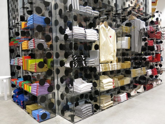 Dover Street Market menswear shop New York