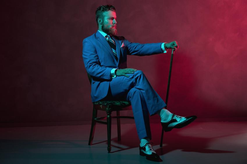 Elegant gentleman, style, apparel