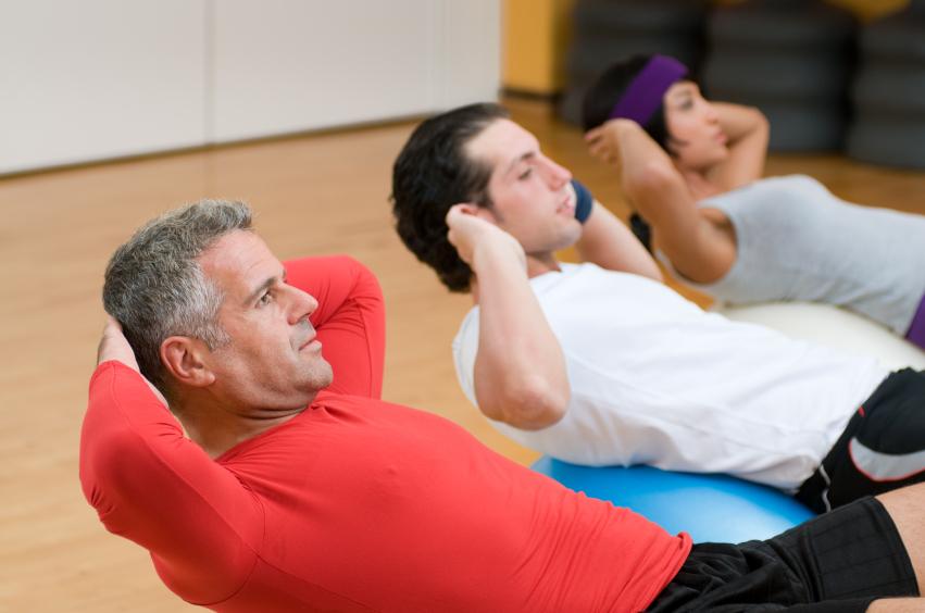 group training, gym