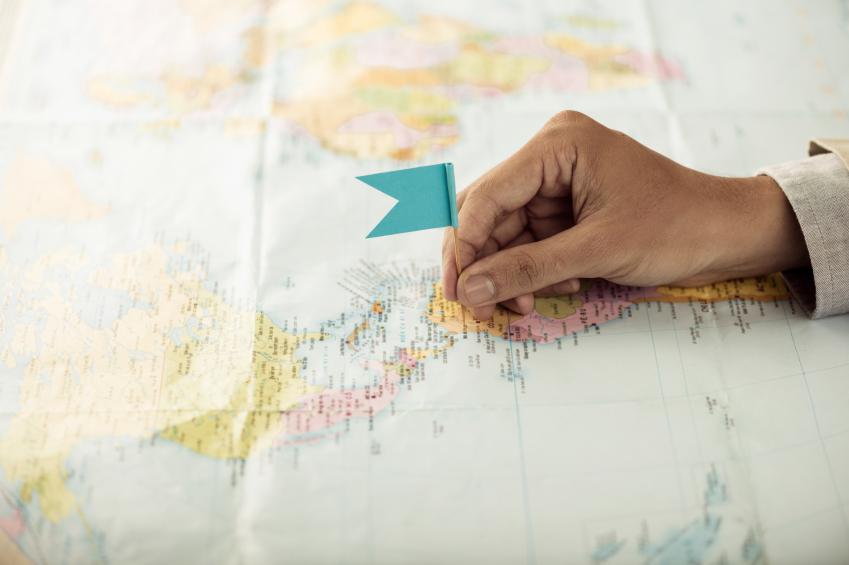 map, vacation