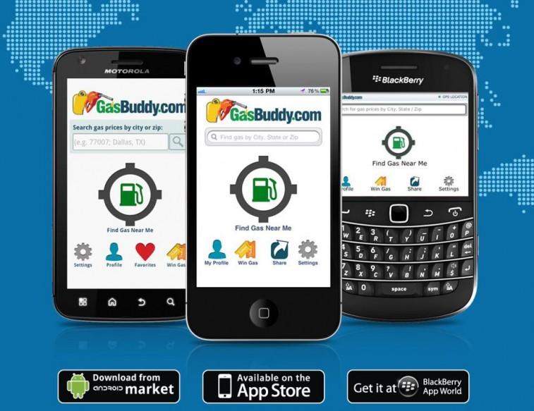 GasBuddy app to find cheap gasoline