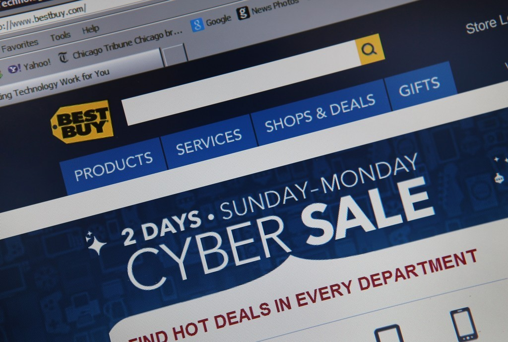 online shopping cyber monday