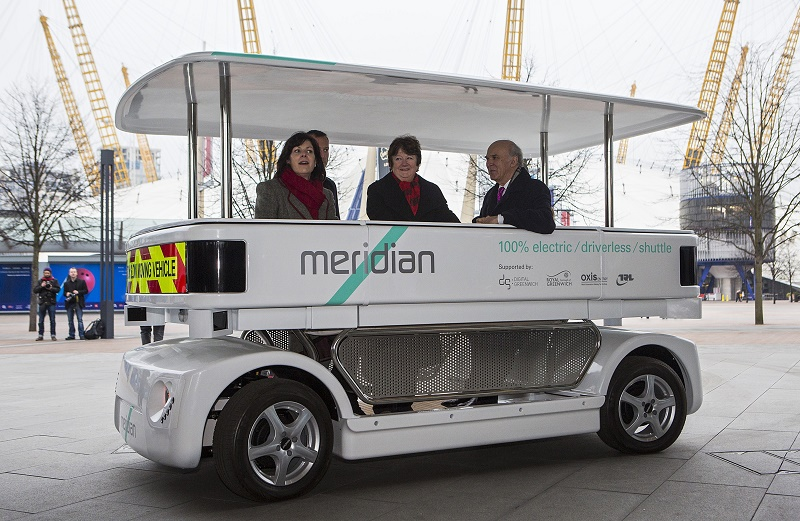 BRITAIN-TRANSPORT-DRIVERLESS CAR