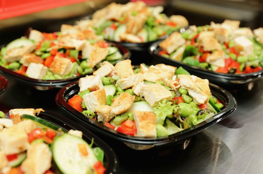 fast food salad